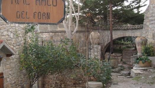 Arranjament del carrer del Forn amb la col·laboració de la Diputació de Lleida