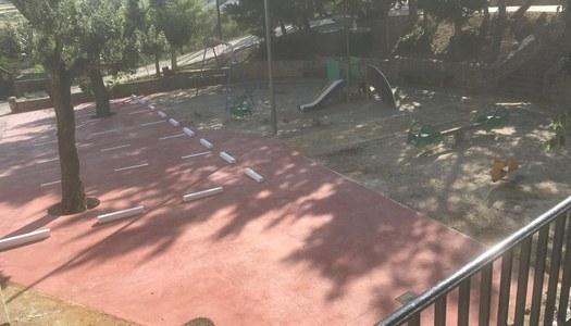 Millora del Paviment al voltant d'un espai lliure públic amb la col·laboració de la Diputació de Lleida